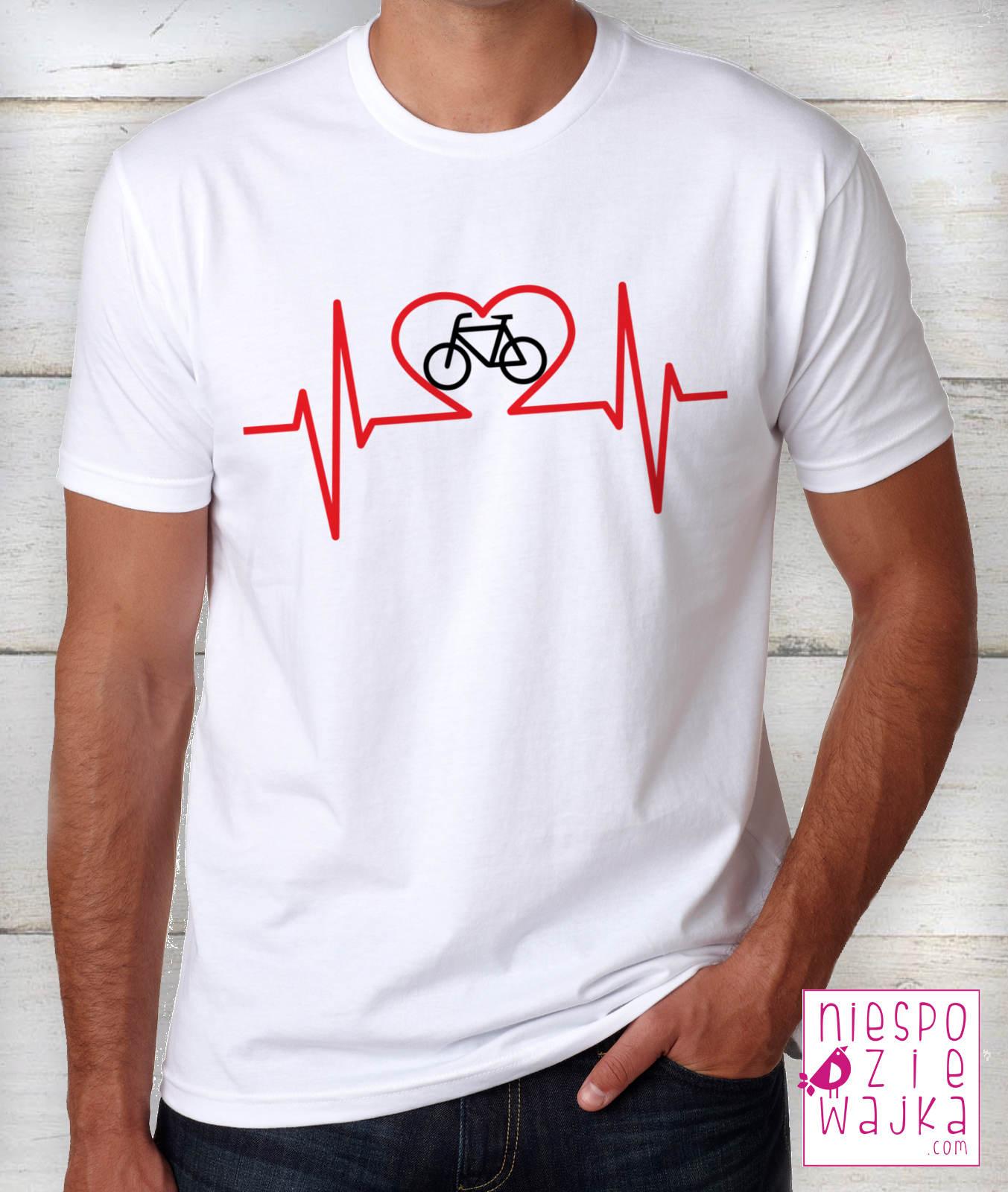 83fb102b2708c2 Koszulka I love Rower EKG