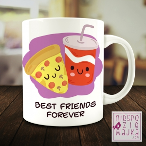 "Kubek ""Best Friends Forever"" BFF"