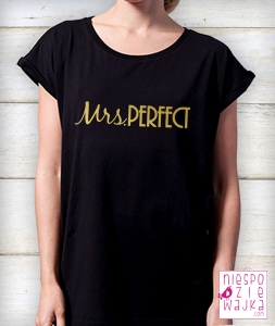 Koszulka oversize Mrs PERFECT