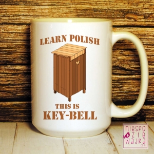 Kubełek Learn Polish Key-Bell