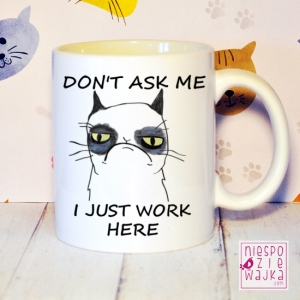 "Kubek ""Don't Ask Me"" - Grumpycat"