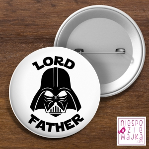 "Przypinka ""Lord Father"" 58 mm"