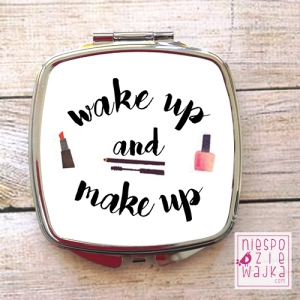 "Lusterko ""Wake up and make up"""